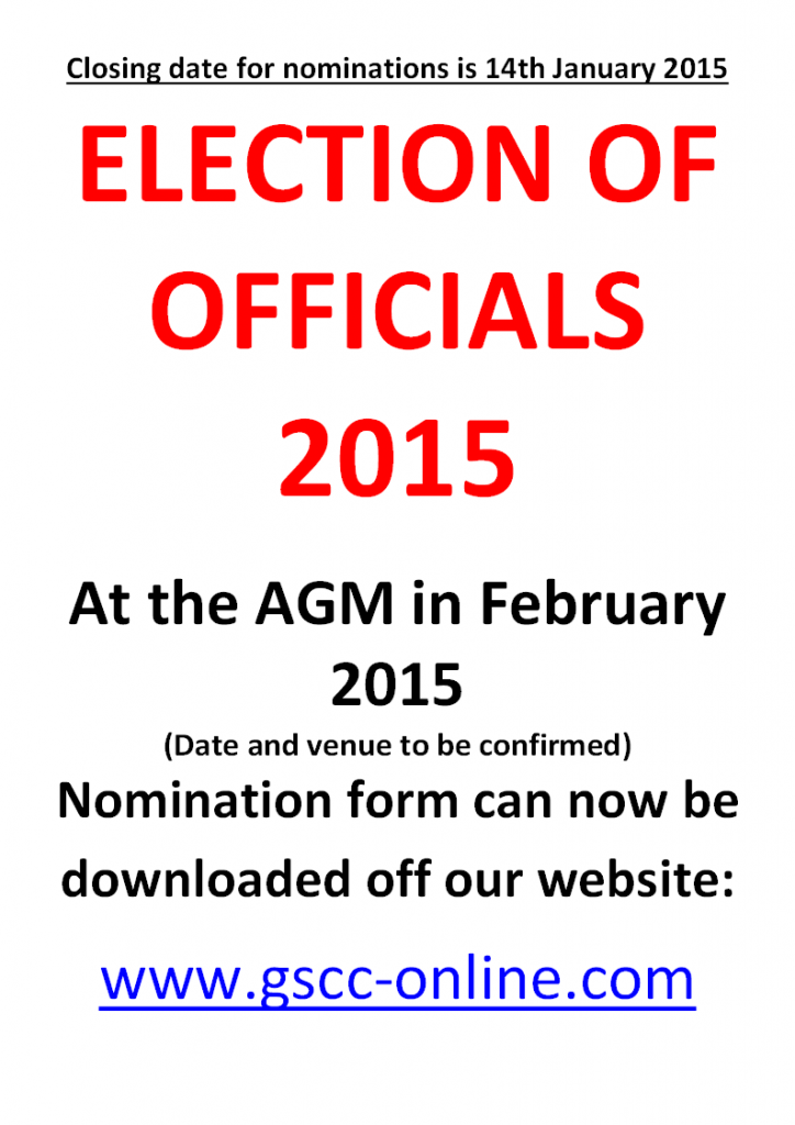 Election of officials 2015