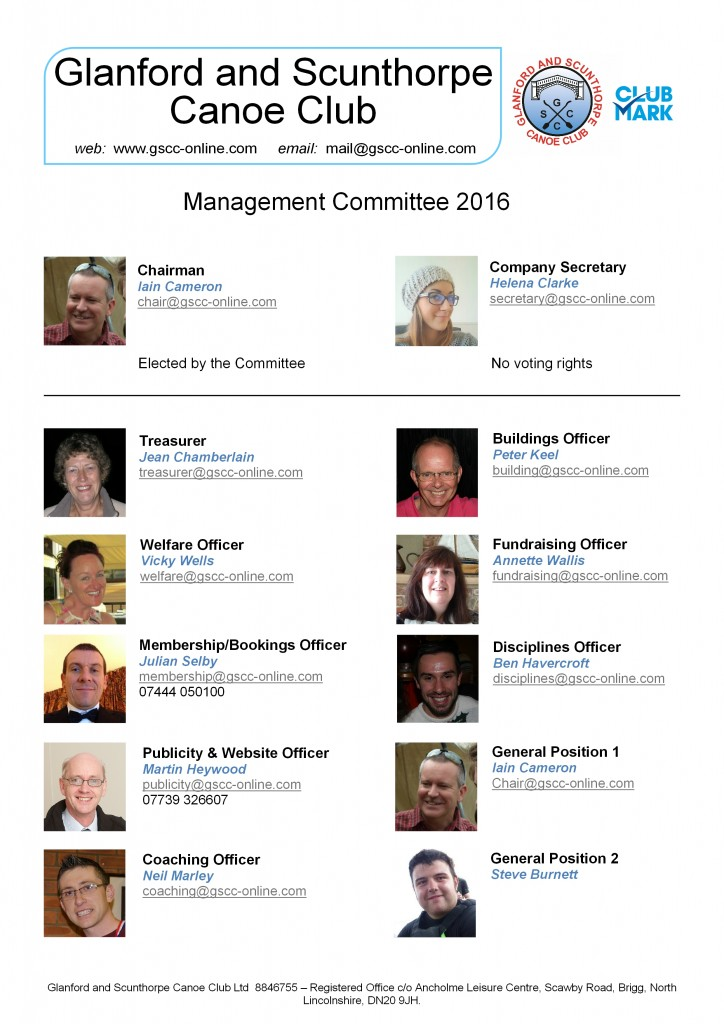 Management Committee 2016